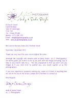 Acorns Digital file Licence letter 2012